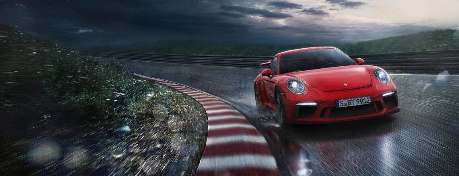 La nuova 911 GT3.