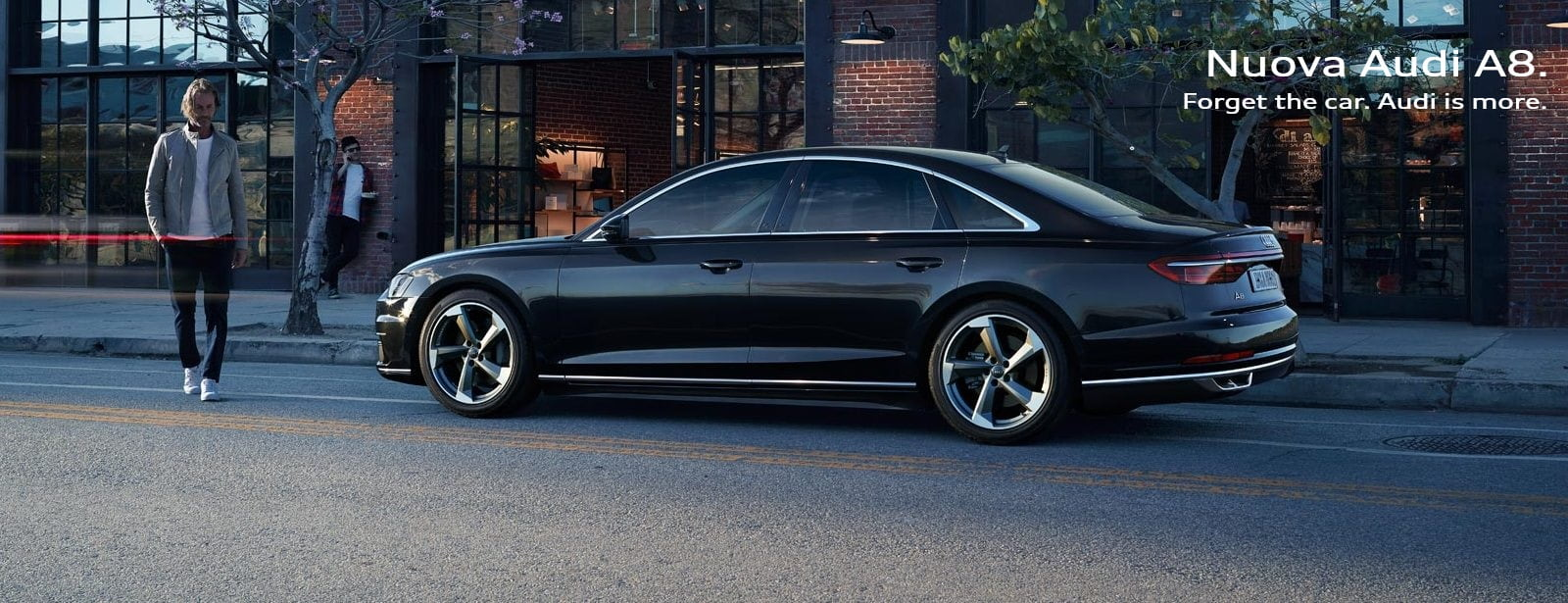 Nuova Audi A8.