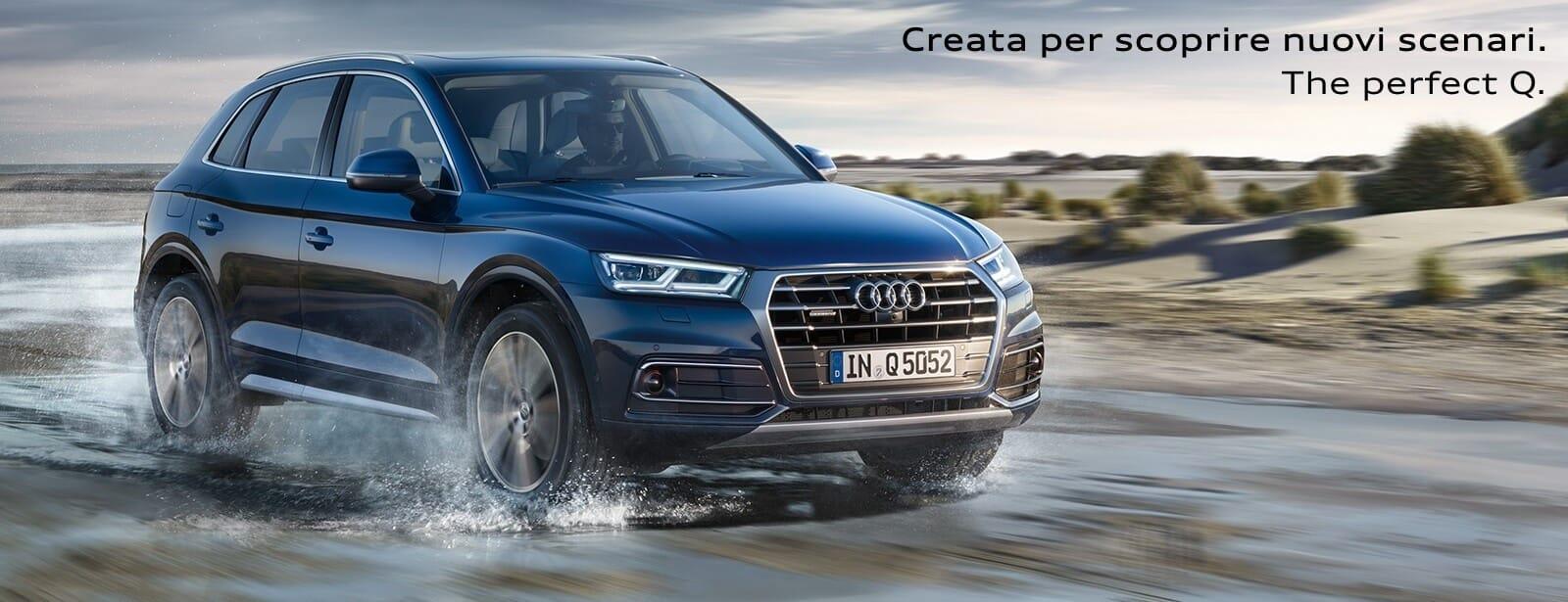 Nuova Audi Q5. Scopri i dettagli.